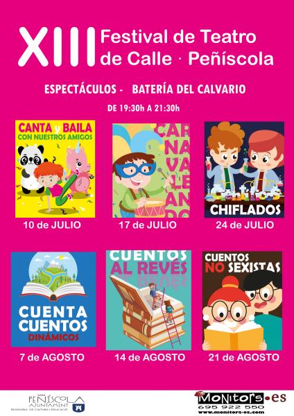 XIII Festival de Teatro de Calle - Peñíscola