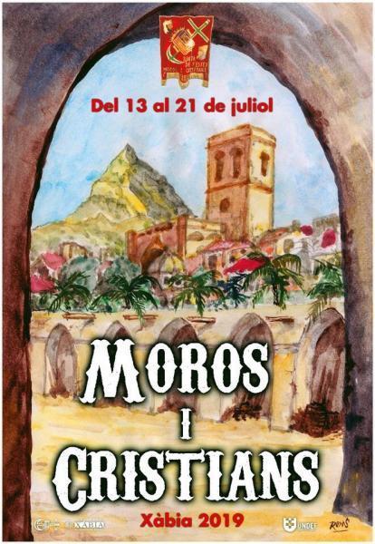 Programmation des fêtes des Maures et Chrétiens 2019 Xàbia