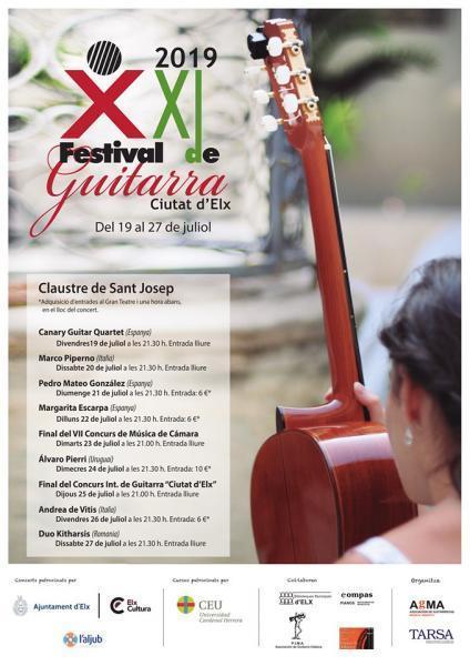 XXI Festival de Guitarra Ciutat d´Elx