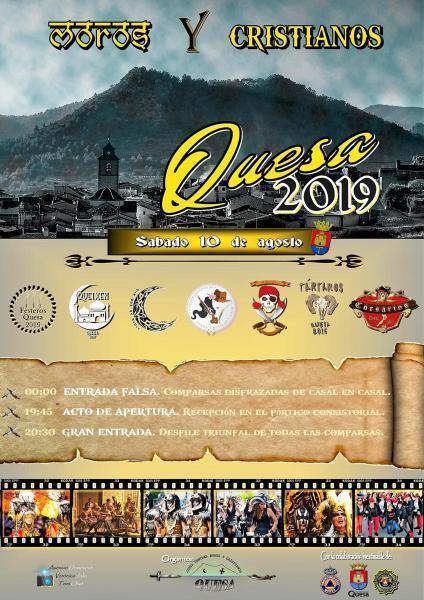 Fiestas de Moros y Cristianos 2019 en Quesa