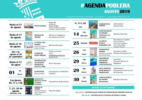 Agenda Agosto 2019