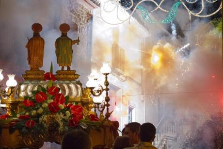 Fiestas de San Cosme y San damían en LLiber