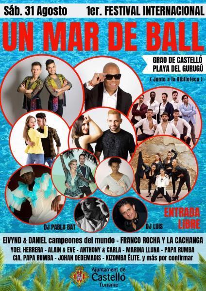 """1ER FESTIVAL INTERNACIONAL DE BAILE """"UN MAR DE BALL"""""""