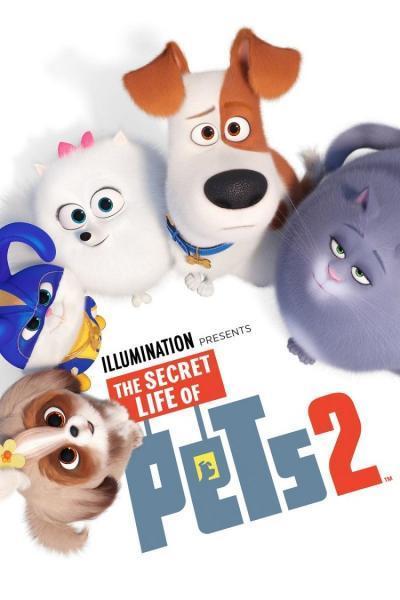 Cine animación: Mascotas 2