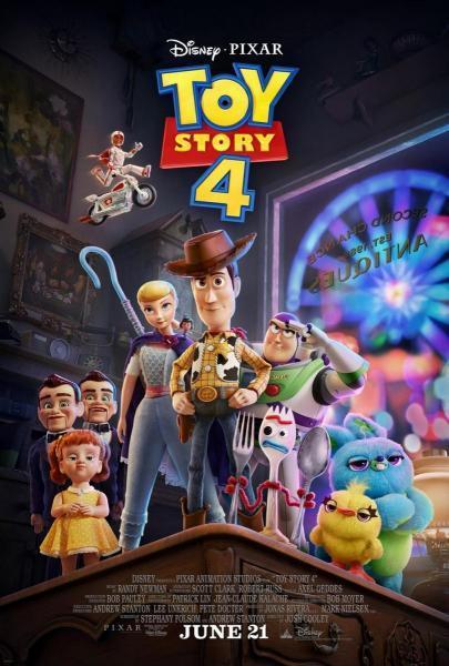Cine Animación: Toy Story 4