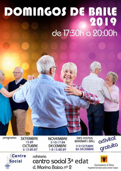 Bailes de Domingo 2019 Altea