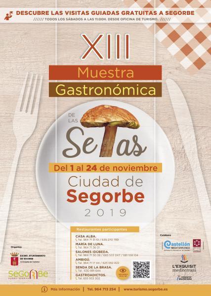 XIII Muestra Gastronómica de las Setas Segorbe