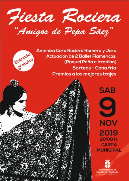 """Fiesta Rociera """"Amigos de Pepa Sáez"""" en Pilar de la Horadada 2019"""