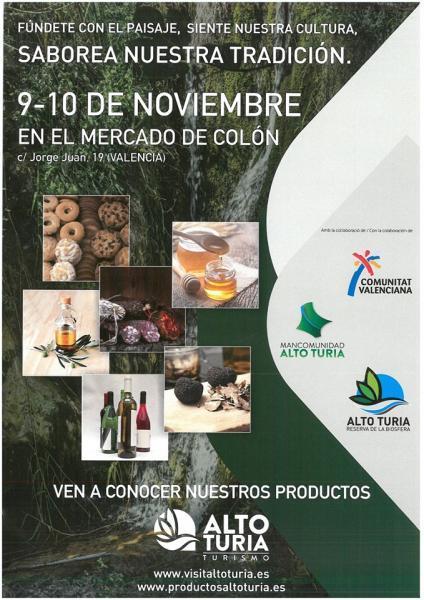 EL ALTO TURIA EN LA FERIA DEL MERCADO DE COLÓN-2019
