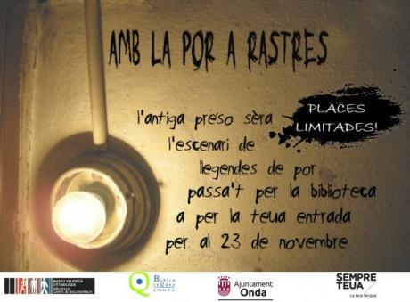 ESPANTA LA POR!: AMB LA POR A RASTRES