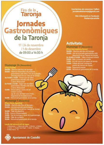 Jornadas Gastronómicas de la Naranja