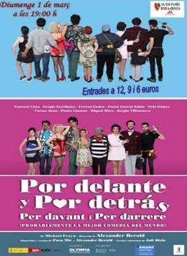 """Teatro """"PER DAVANT I PER DARRERE"""""""