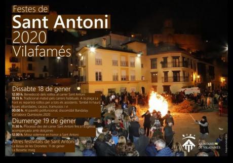 Festes de Sant Antoni 2020 Vilafamés