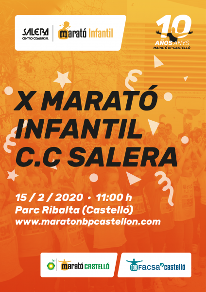 MARATÓN INFANTIL CIUDAD DE CASTELLON