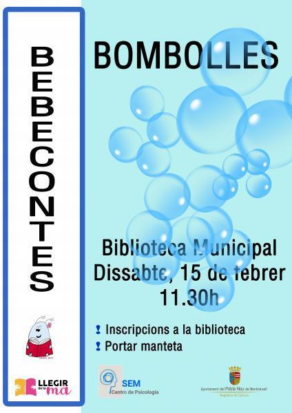 "Bebecuentos: ""Bombolles"""