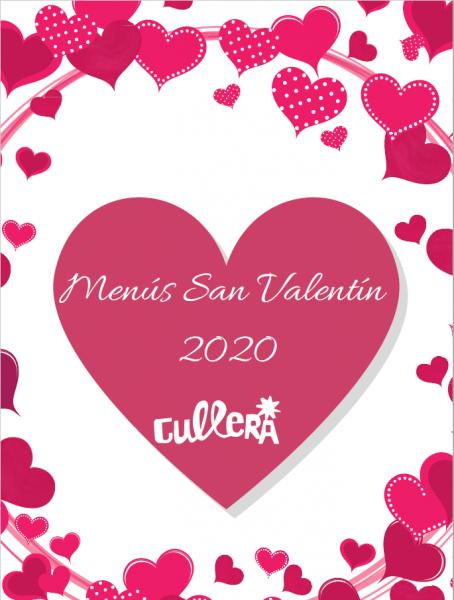 MENÚS SAN VALENTÍN CULLERA 2020