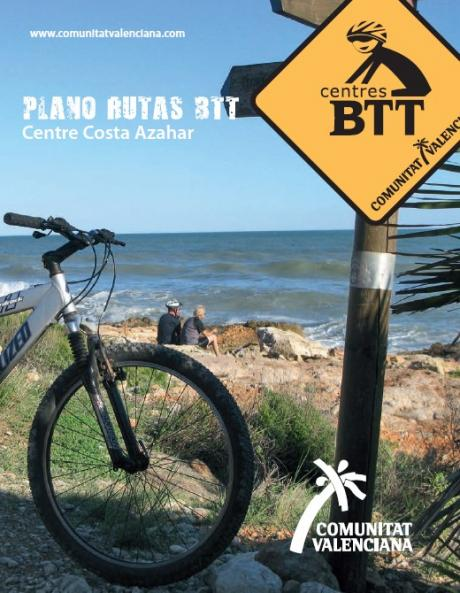 Portada folleto BTT Costa Azahar