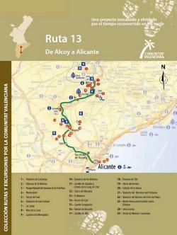 Ruta 13 De Alcoy a Alicante