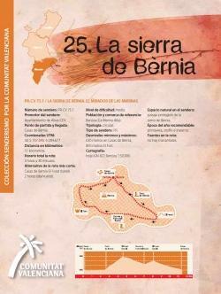 Ruta 25 La sierra de Bernia