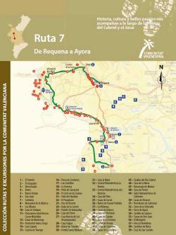 Ruta 7 De Requena a Ayora