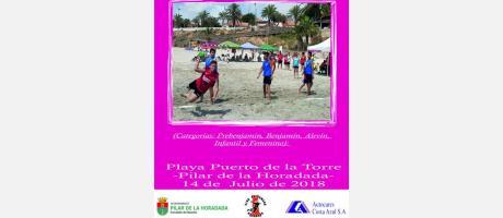 "Balonmano Playa ""XVIII Memorial Juan José Saura"""